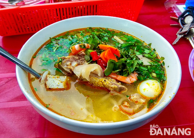 'Banh canh' is an easy-to-make dish