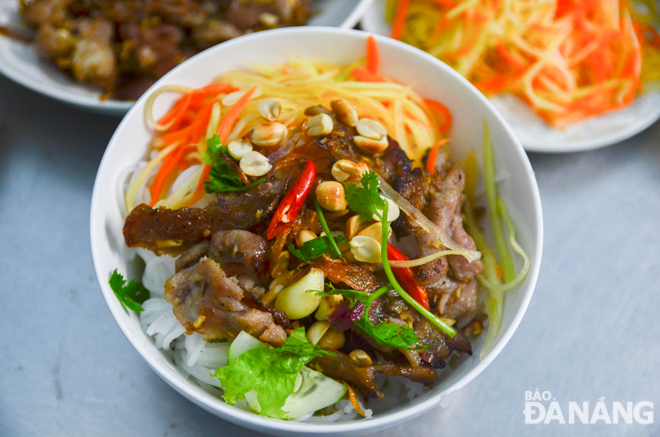 'Bun thit nuong' - popular speciality to awaken all your taste buds