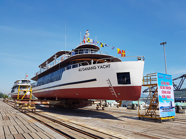 Photo: A view of the soon-to-operate tourist ships