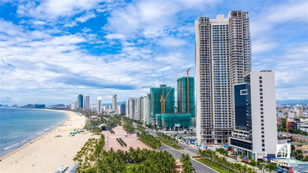 Real estate projects constructed in Da Nang city. (Photo:diendanbatdongsan.vn)