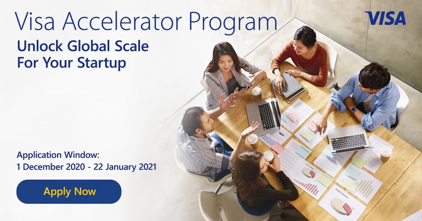 Visa is receiving applications for its Visa Accelerator Program (Photo courtesy of Visa)