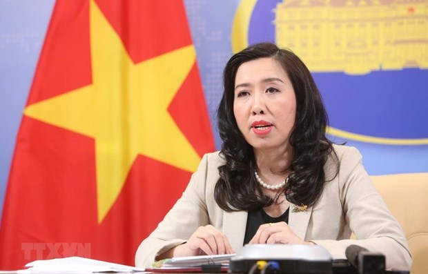 Foreign Ministry's Spokesperson Le Thi Thu Hang (Photo: VNA)